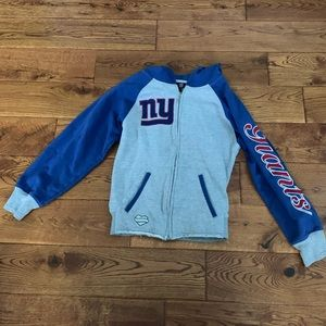 Girls New York(NY) Giants Zip-up Reebok Jacket🏈